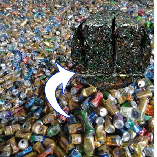铝罐、铁罐打包机