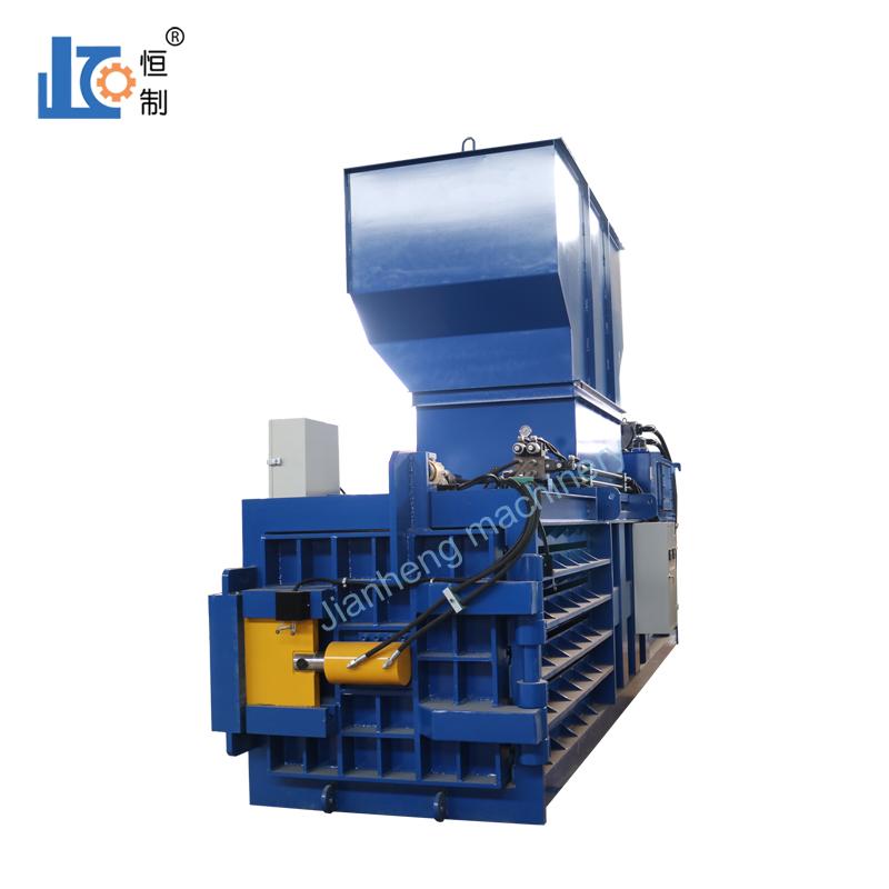 严格控制空气侵入全自动废纸打包机液压系统