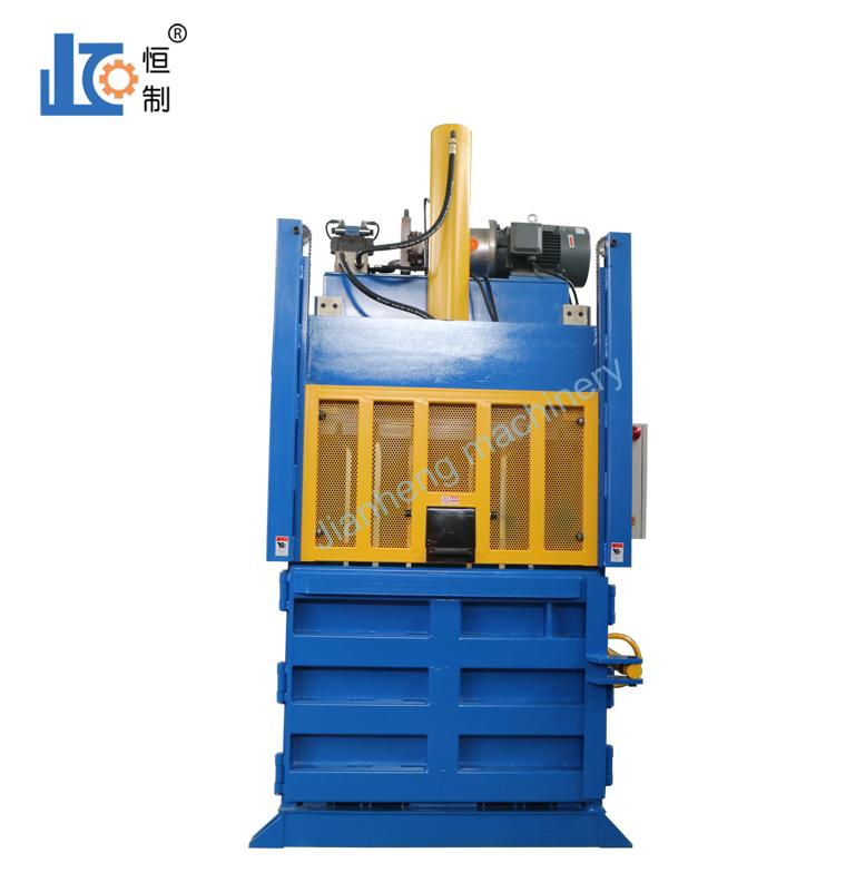 液压打包机提高了废纸箱的有效回收利用率